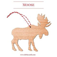 Moose - King of the Swedish forest. Scandinavian Christmas decoration in sustainable alder wood. Will be at the @scandinavianfestival the 13th of September. #brisbanefestival#christmasdecorations#scandistyle#moose#älg#wooddecorations#nordicchristmas#visitbrisbane