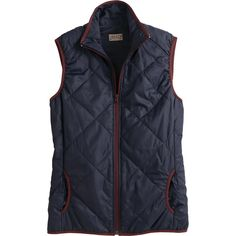 The women's PSI Packable Vest insulates, sheds rain and packs into its own little pocket. Take warmth everywhere! From Duluth Trading Company.