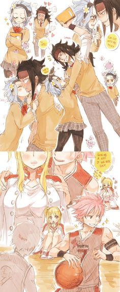 Fairy Tail ♥ Gajevy ♥ and Nalu ♥