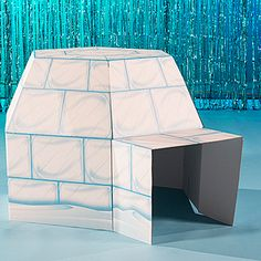 Bring the winter fun indoors with this Arctic Playground Igloo. This cardboard Arctic Playground Igloo measures 3 feet 4 inches high. Winter Fun, Winter Theme, Arctic Decorations, Igloo Craft, Operation Arctic, Arctic Blast, Fair Theme, Polo Norte, Winter Wonderland Party