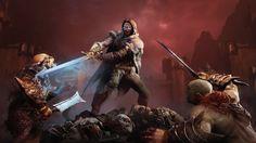Middle-earth: Shadow of Mordor - Hidden Blade Rune Pewdiepie, L'ombre Du Mordor, League Of Legends, Shadow Of Mordor Game, Youtubers, Media Sombra, Wolf's Head, Middle Earth Shadow, Hidden Blade