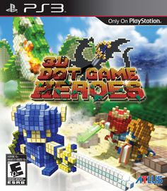3D Dot Hero Game - SP3- La mejor forma de definir esta aventura seria una mezcla de zelda (cualquiera menos el Zelda II) con algun Final Fantasy (cualquiera menos los de ps3) con graficas de 8 bits pero en 3D, lo se suena tonto pero realmente funciona es muy divertido y con un nivel muy bueno de dificultad
