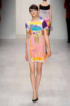 Wearable art, fashion week. Antoni and Alison S/S '13: Fashionising.com