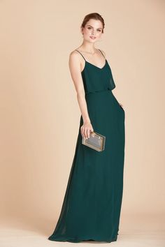 Slit Collection – Birdy Grey Forest Green Bridesmaid Dresses, Flattering Bridesmaid Dresses, Classic Bridesmaids Dresses, Emerald Bridesmaid Dresses, Bridesmaid Dresses Under 100, Grey Bridesmaids, Affordable Bridesmaid Dresses, Floor Length Gown, Wedding Ideas
