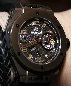 hublot watches | Hublot Big Bang Ferrari Watches Hands-on
