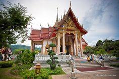 Beautiful Architecture of Wat Chalong
