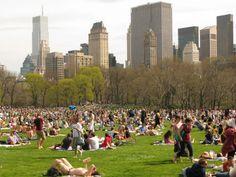 Central Park - Parque em New York Central Park, New York Central, Summer In Nyc, Weekend In Nyc, Pink Summer, Park In New York, New York City, June Events, Escape
