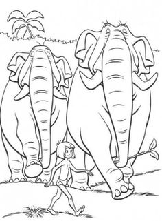 Jungle Book 2 Coloring Page