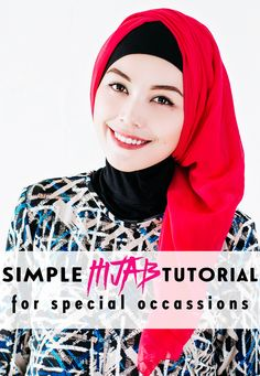 hIJAB TUTORIAL FOR FORMAL OCCASION