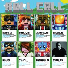 Meet the 8 most famous Minecraft players, their hugely popular YouTube presence and the brands just learning how much these viral subcultures can pay off.