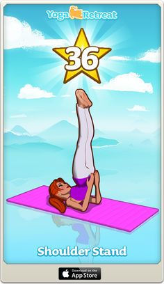 Join me in playing Yoga Retreat, I just reached level 36!