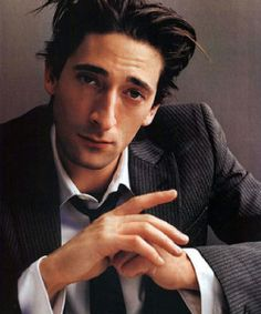 i don't care what anyone says, your nose is amazing, adrien brody