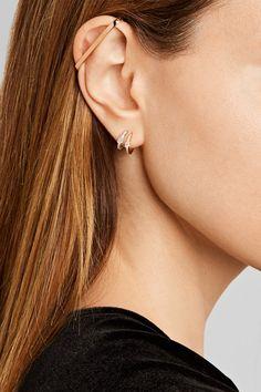 Repossi - Staple 18-karat Rose Gold Ear Cuff - one size