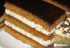 Hungarian Desserts, Hungarian Recipes, Cookie Recipes, Dessert Recipes, Tiramisu Cake, No Cook Meals, Sweets, Food And Drink, Ethnic Recipes