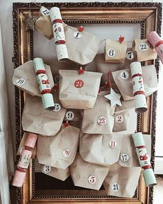 Advent Calendar, Holiday Decor, Christmas, Instagram, Home Decor, Xmas, Decoration Home, Room Decor, Weihnachten