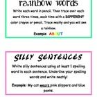 32 awesome word work activities! I created these for my word work files for students to work on during Daily 5. There are 32 different activity ins...
