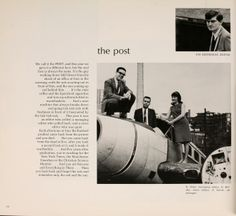 """Joe Eszterhas, the screenwriter who penned """"Showgirls"""" and """"Flashdance,"""" was the editor of The Post at Ohio University in 1966. Athena yearbook, 1966."""