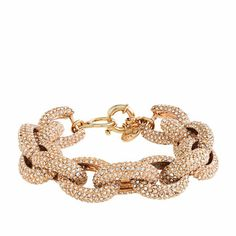 Classic pave J.Crew bracelet. Looks like a thousand bucks, but it's only just over one hundred! love it!