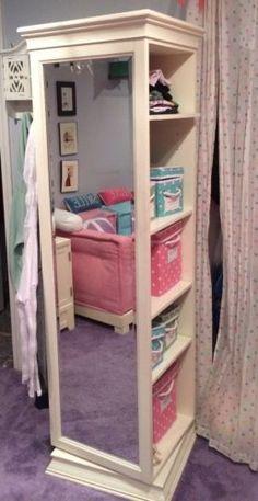 PB Teen Display IT Storage Mirror