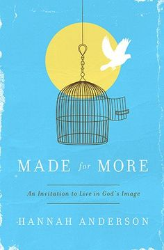Made for More: An Invitation to Live in God's Image by Hannah Anderson http://www.amazon.com/dp/0802410324/ref=cm_sw_r_pi_dp_T-EHub0H0E03K