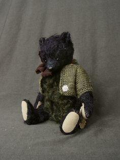 Balin, One Of a Kind Collectible Mohair Artist Bear from Aerlinn Bears. $260.00, via Etsy.