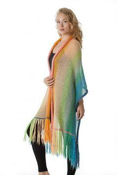 Art Yarns Silk Mohair Blanket Shawl