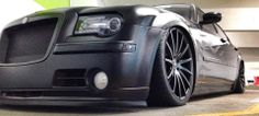 Chrysler 300 aired out on our XIX X39s in Matte Black. For more visit: www.xixwheels.com