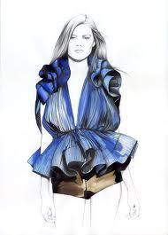 fashion sketches dior - Google Search