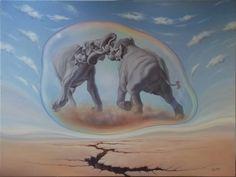 25 Beautiful Surreal Art works by Lohmuller Gyuri Illusion Kunst, Illusion Art, Original Art, Original Paintings, Surreal Artwork, Surrealism Painting, Pop Surrealism, Tumblr, Fine Art Paper