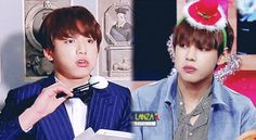 Hahahahaha  _I see no diference.. KOOKIE & V are like twins. _