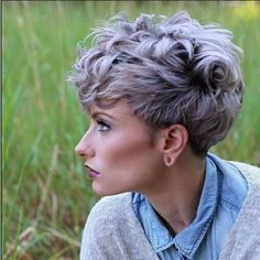 Messy Hairstyle for Short Hair