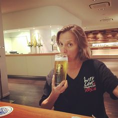 My first #beer in #Munich. Notice I'm sporting my @visitphilly shirt. Can't wait till my @amawaterways #danube #cruise starts tomorrow