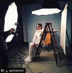 #Repost @gerryatwork ・・・ Behind the scenes with @chelseypitfield mua by @brittneycrump #beauty #fashion #models #bts #fashion #models #trend #vscodaily #instalove #instagood