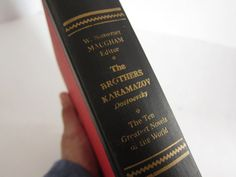 Vintage Book The Brothers Karamazov by ThePassionateFlea on Etsy
