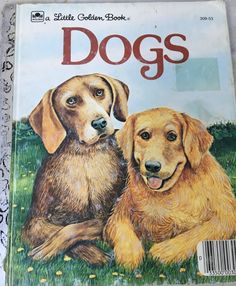 vintage Dogs book, Little Golden Book, Jean Lewis, Turi MacCombie, children's hardback, 1983, 309-53 by MotherMuse on Etsy