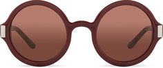 THE ROW ROW63C4 round acetate sunglasses