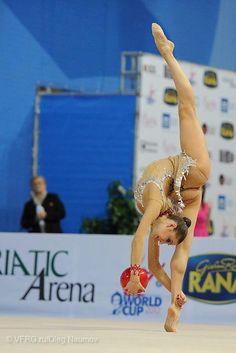 Evgenia Kanaeva (Russia), 2011, Ball, Rhythmic Gymnastics