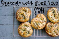 TASTY TRIX: Homemade Pretzels with Art of Oil's Black Lava Salt: International Incident SaltParty