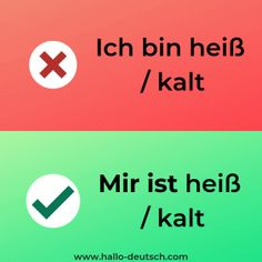 Most Common Mistakes German Learners Make - Hallo Deutsch Study German, German English, Learn German, Learn French, German Language Learning, Learn A New Language, English Language, German Grammar, German Words