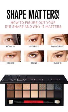 makeup + eye shape