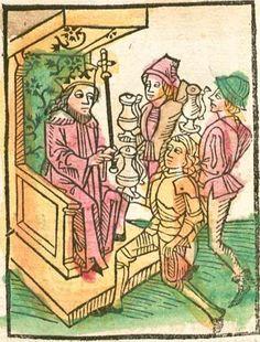 Speculum humanae salvationis Augsburg, 1492 Ink S-514 - GW M43008  Folio 62