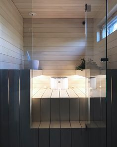 Sauna Design, Sauna Room, Sauna Ideas, New Homes, Saunas, Interior, Bathrooms, House, Wellness