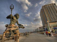 Neptune's Park Virginia Beach, VA by vincestamey, via Flickr