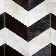 REDUCED PRICE Eclectic Zig Zag Chevron Cowhide Rug. by OmbuDesign, $861.00