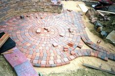 circular paver stone images Creative Designs Adding Circular Paving Stones for Your Patio