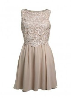 Little Mistress Cream Vintage Lace Dress  Kimberly Hazzelwood