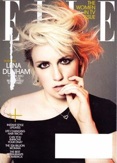 New ELLE FEBRUARY 2015 Lena Dunham WOMEN IN TV ISSUE Style Updates Vogue Glamour | eBay