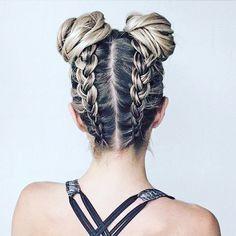35 cool braids for back to school hairstyle hair hair, long Medium Hair Styles, Curly Hair Styles, Hair Medium, Braids For Medium Length Hair, Medium Curly, Medium Long, Braid Hair Styles, Braids Long Hair, Cool Braids
