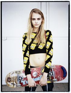 it girl: cara delevingne by matt irwin for style.com print #3 s/s 2013 | visual optimism; fashion editorials, shows, campaigns & more!