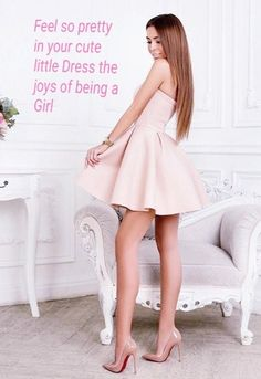 Womens Style Discover posts of Feminine Feelings to have fun with Cute Girl Dresses Little Dresses Girly Captions Tg Captions Female Led Marriage Boho Dress Dress Up Humiliation Captions Petticoated Boys Girly Girl Outfits, Cute Girl Dresses, Little Dresses, Pink Outfits, Sexy Dresses, Girly Captions, Tg Captions, Female Led Marriage, Petticoated Boys